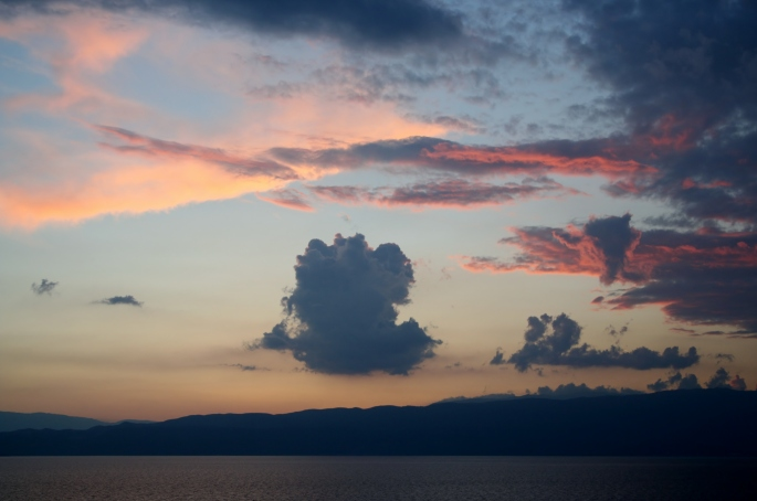 Beautiful, three-million-year-old Lake Ohrid