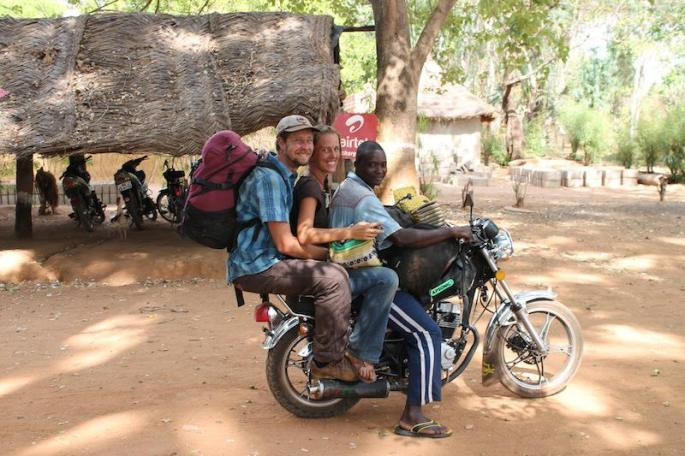Bonus: after our bags were stolen we fit on one motorbike!