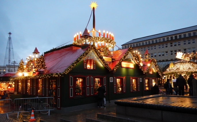 Hamburg Christmas market about to open