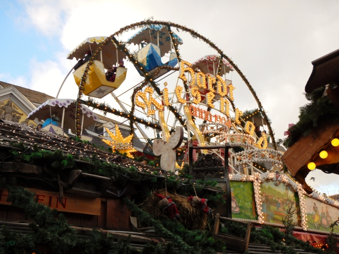 Bonn Christmas market ferris wheel
