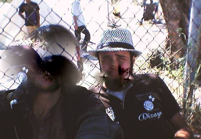 Camp life selfie: Hadikun and me