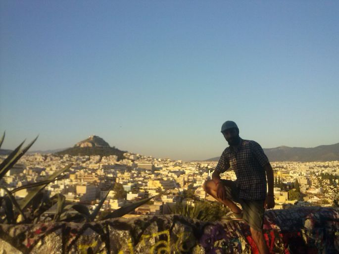 The (natural) beauty and ugliness  (architecture) of Athens.