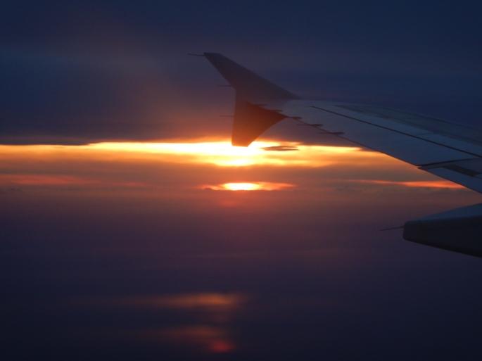 Flying back to Dusseldorf