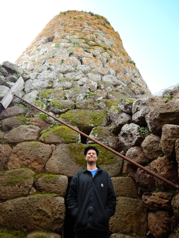 And checked out one of over 7,000 Nuraghe - 3,000 year old towers. Skill in design!