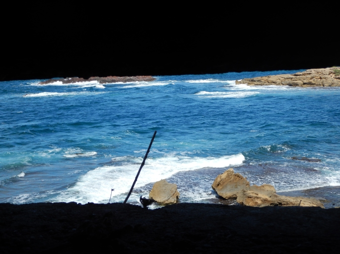Taken from a 'pill-box' in Porto Alabe outside Bosa, where we'd stay the longest (4 nights).