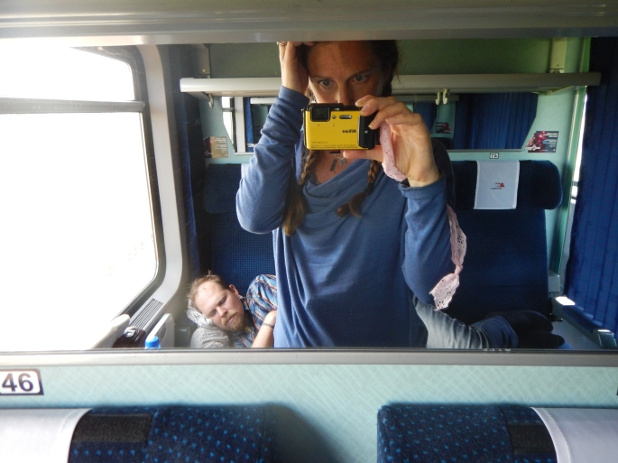 On the train from Berlin to Gdańsk