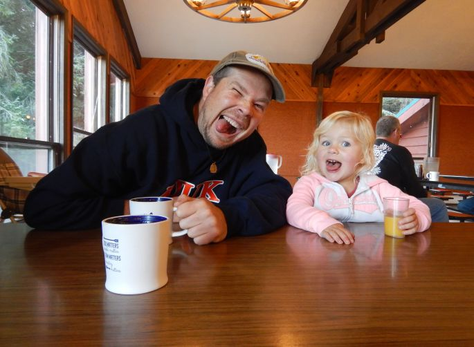 Breakfast buds. All meals are provided during camp and Echo Ranch staff were very organized and helpful!